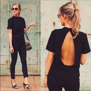 🆕Simply Chic Open Back Blouse